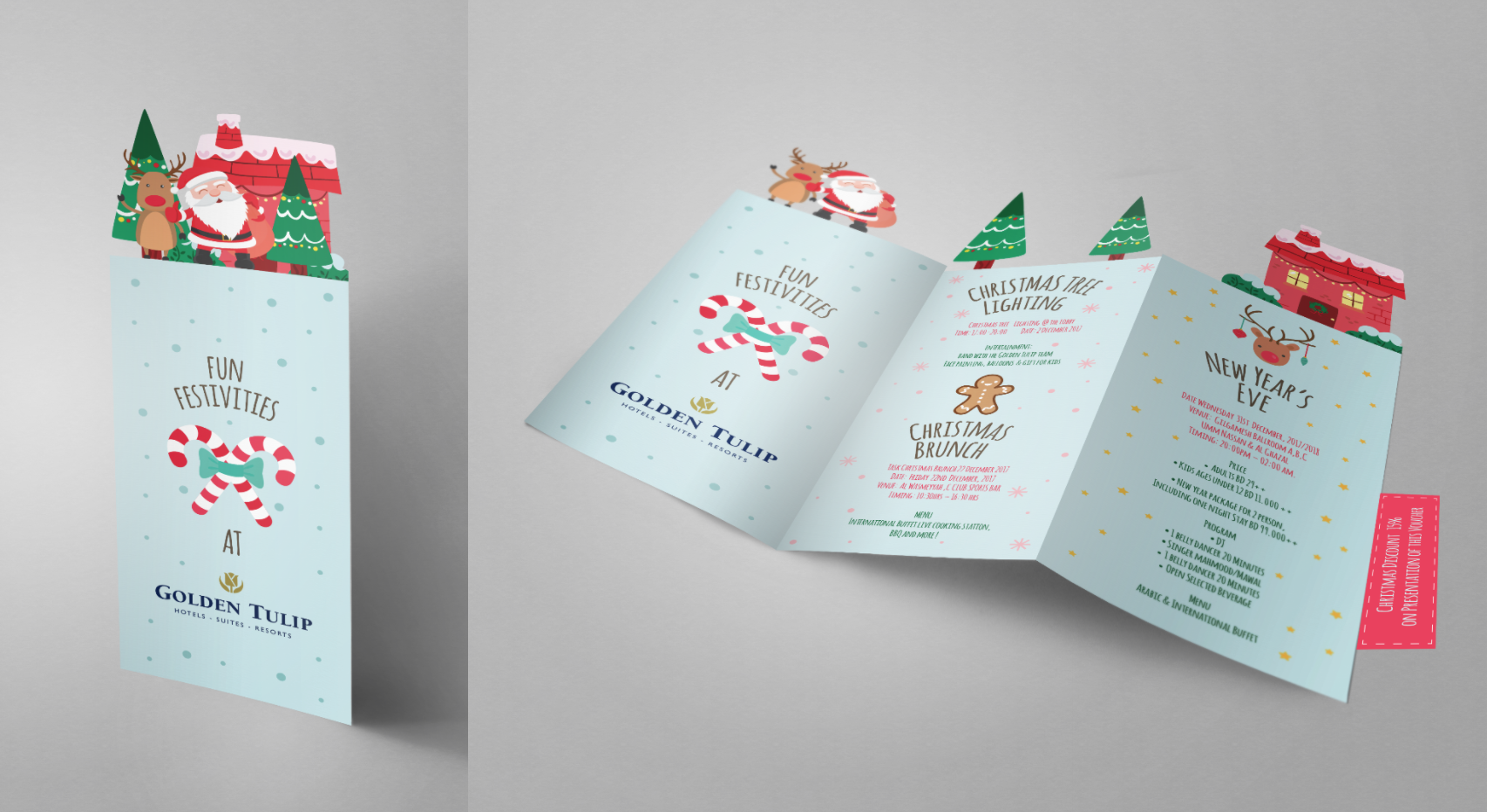 Golden Tulip Christmas Flyer
