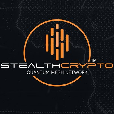 StealthCrypto: Quantum Mesh Network Based On The Blockchain Technology