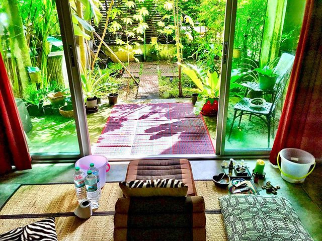 Sacred Kambo detox space in Phuket
