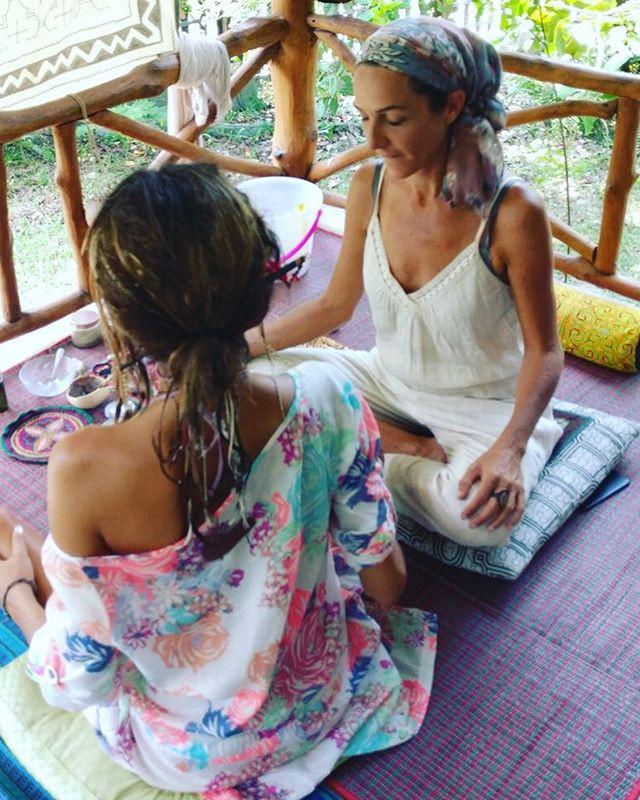 Sacred Kambo medicine ceremony  in Thailand