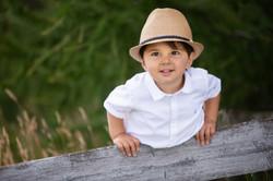 Little boy wearing a hat