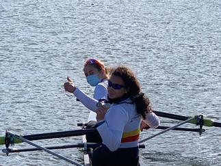 Tre volte sul podio le ragazze della Canottieri San Miniato alla prima nazionale di canottaggio a Pi