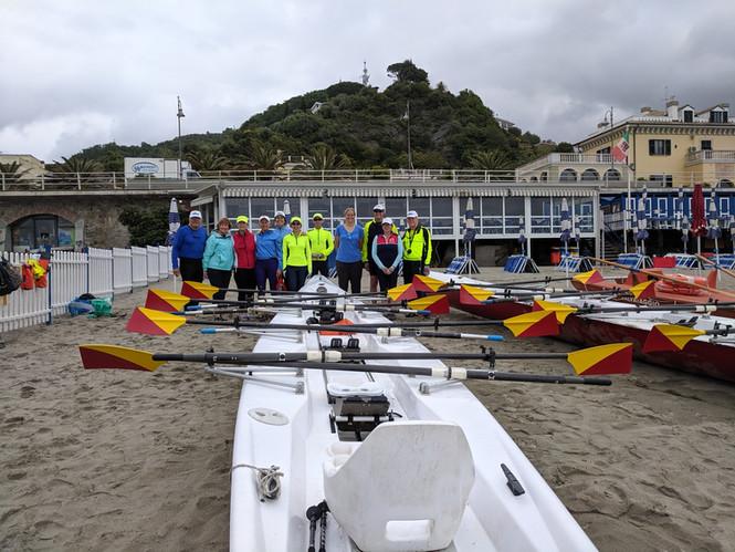 Cinque Terre Rowing