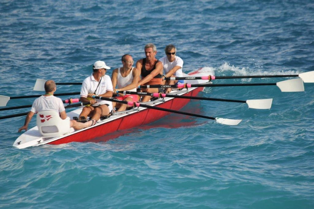 Coastal Rowing on the Mediterranean