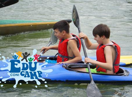 EduCamp CONI al Lago di Roffia