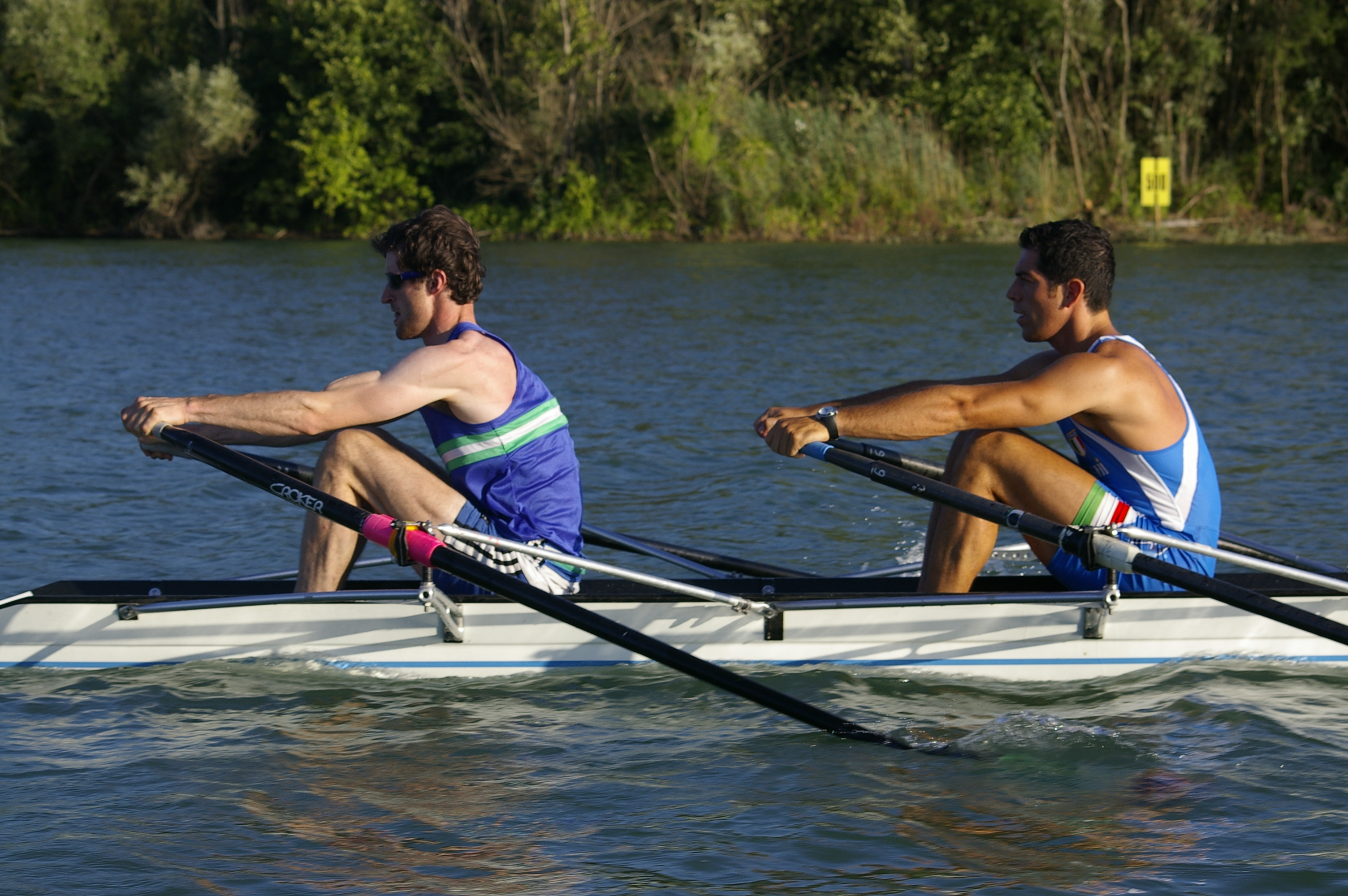 High-level Sculling Coaching