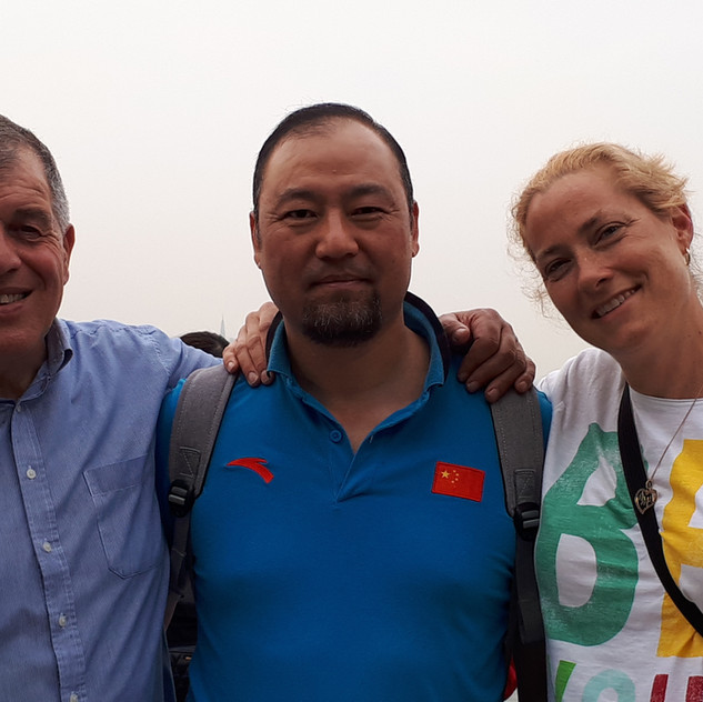 Our original contact, Coach Ren of Hangzhou