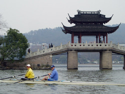 enzo and rower bridge