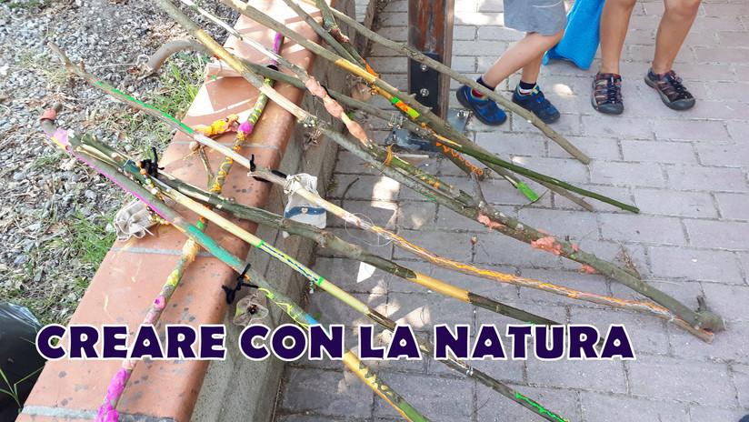CREARE CON LA NATURA