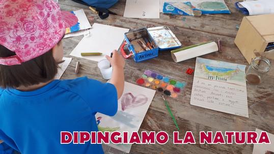DIPINGIAMO LA NATURA