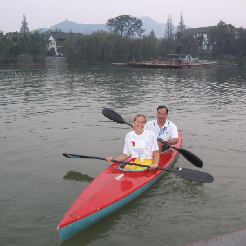 Eliza and Coach Ren in a learner's K2