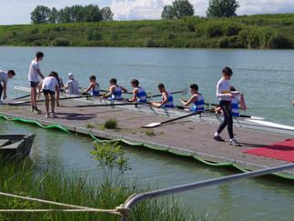 Grande Canottaggio al Lago di Roffia