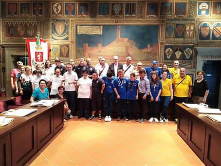 Premiazione in Comune per gli Atleti Special Olympics
