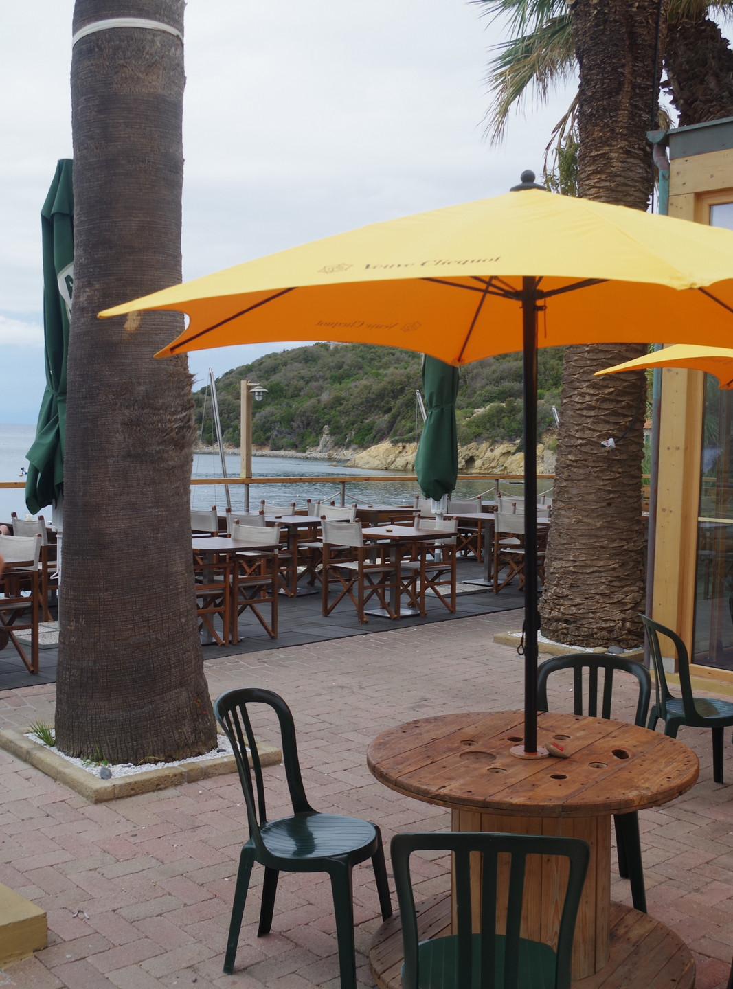 The campground restaurant is a refined seafood delight with amazing sunset views over the bay