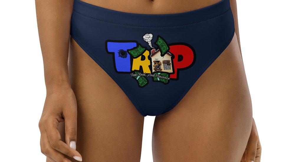 Navy TRAP bikini bottom