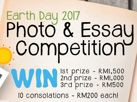 Earth Day 2017 Photo & Essay Competition