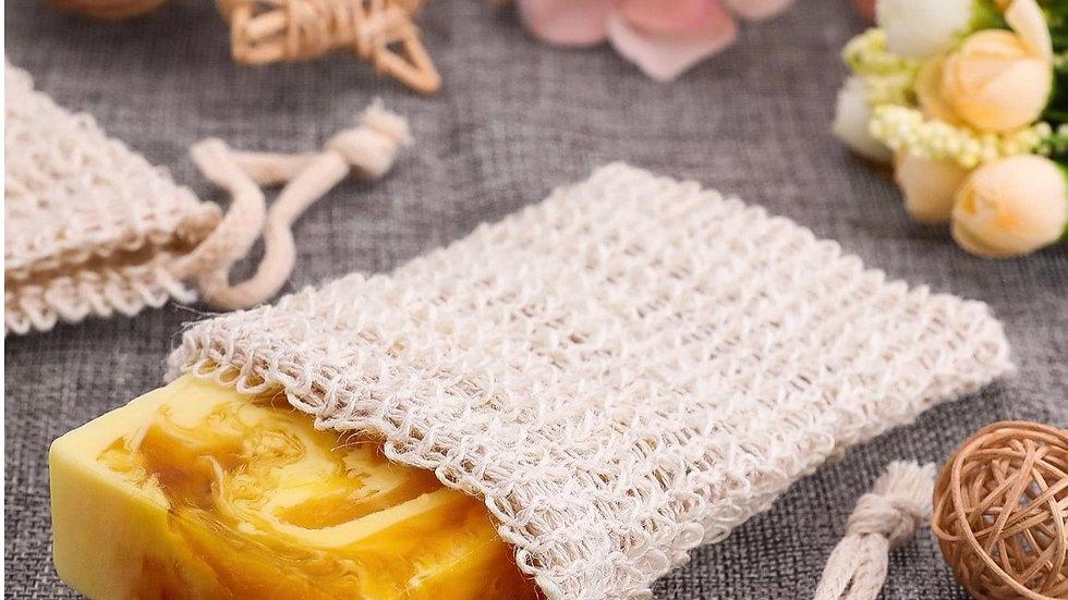 Natural Exfoliating Soap Saver Bag