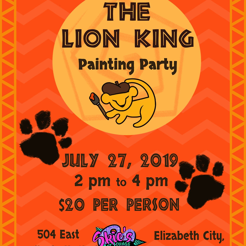 Lion king Paint Session
