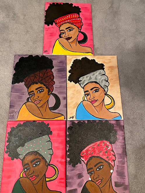 11x14 canvas kits