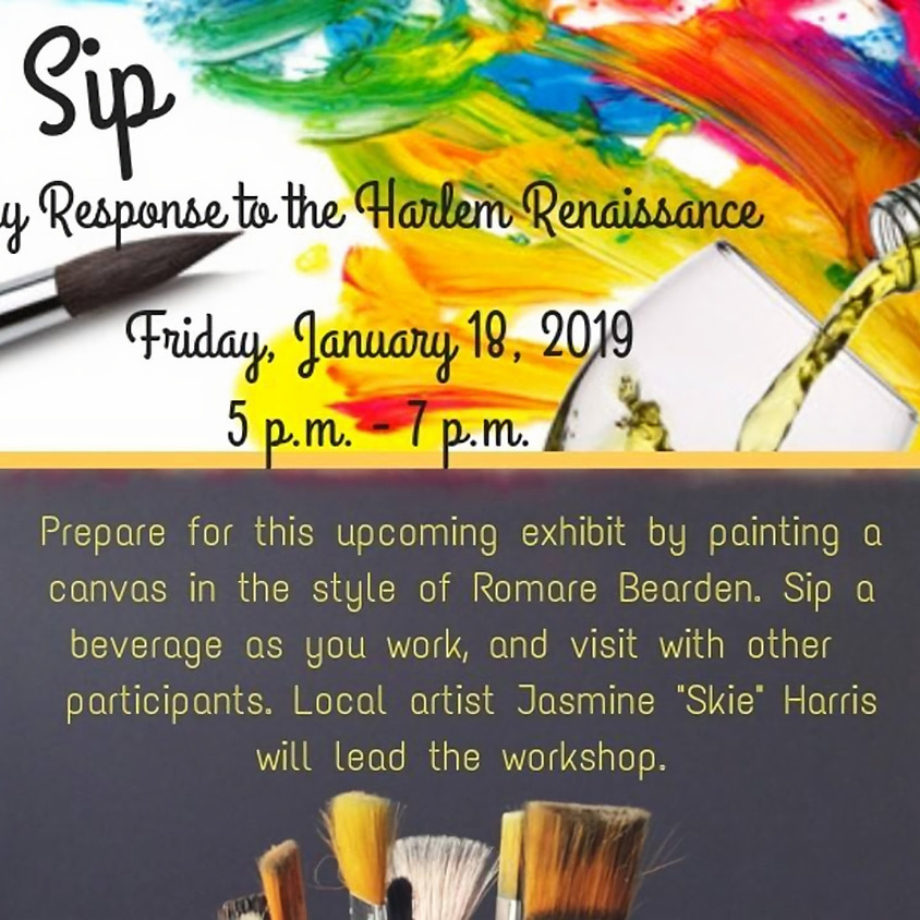Paint & Sip: A Contemporary Response to the Harlem Renaissance