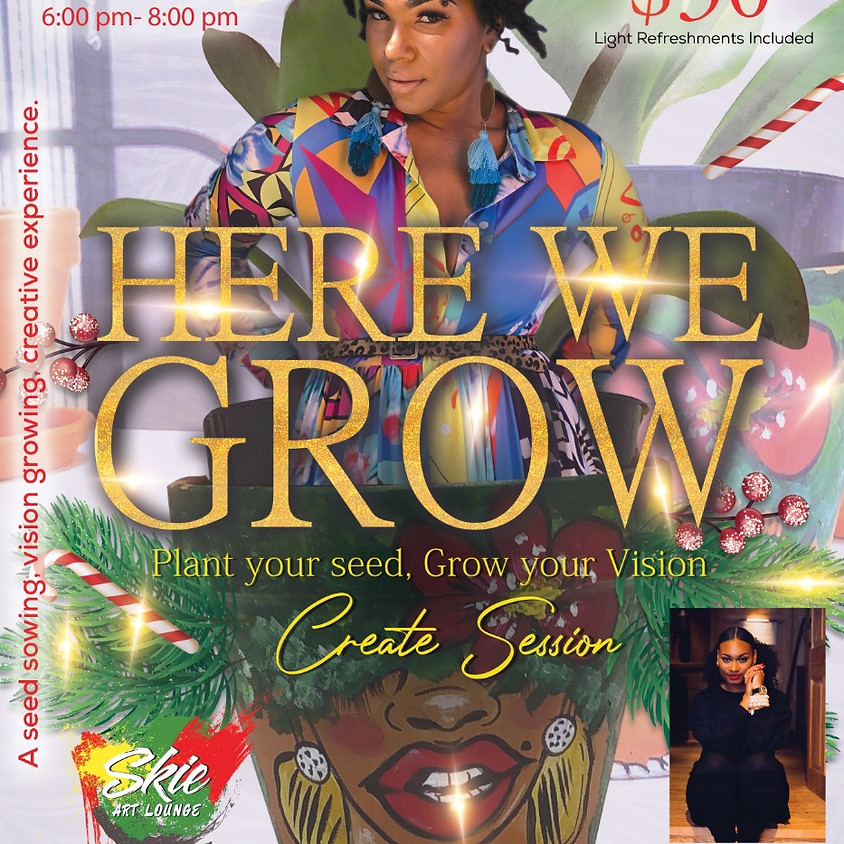 Here we grow again!! Plant you seed session