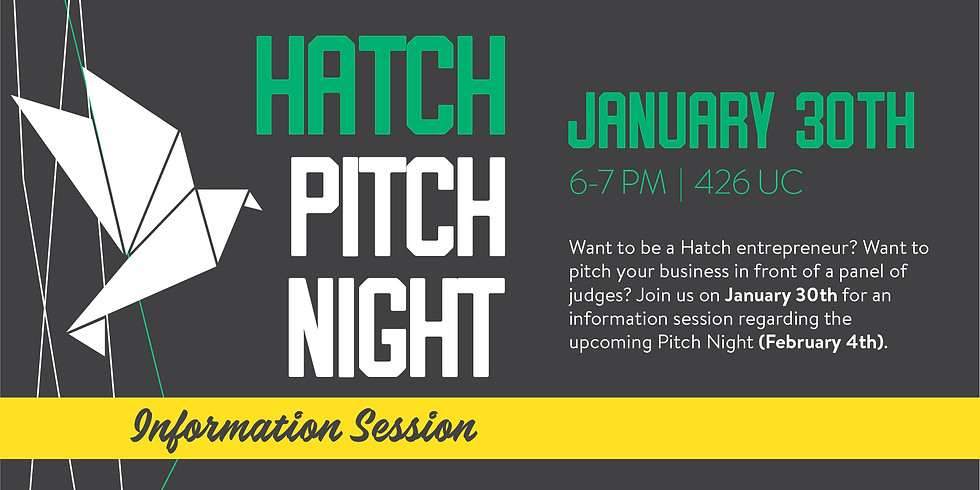 Pitching 101 Info Session