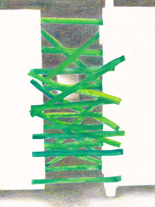 Green Tape (Drawing)
