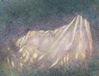 Mountain (Drawing) #2