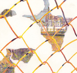 Fence (Drawing) #2