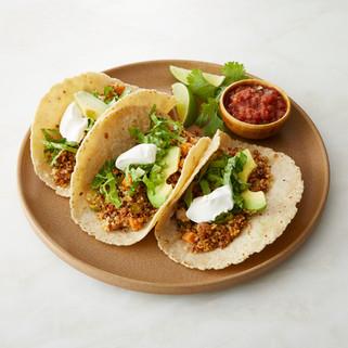 Vegan Quinoa Loaded Tacos