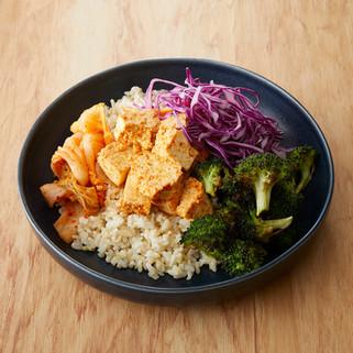 Vegan Seoul Bowl