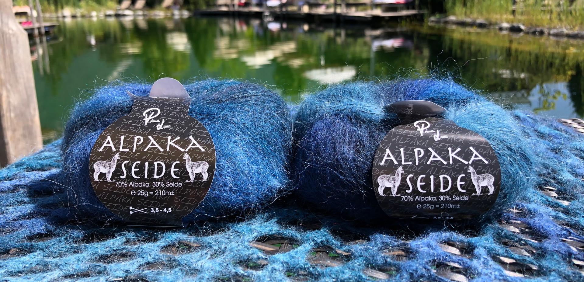 Alpaka Seide