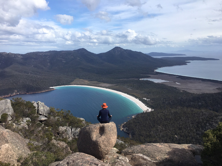 Yoga wineglass bay.JPG