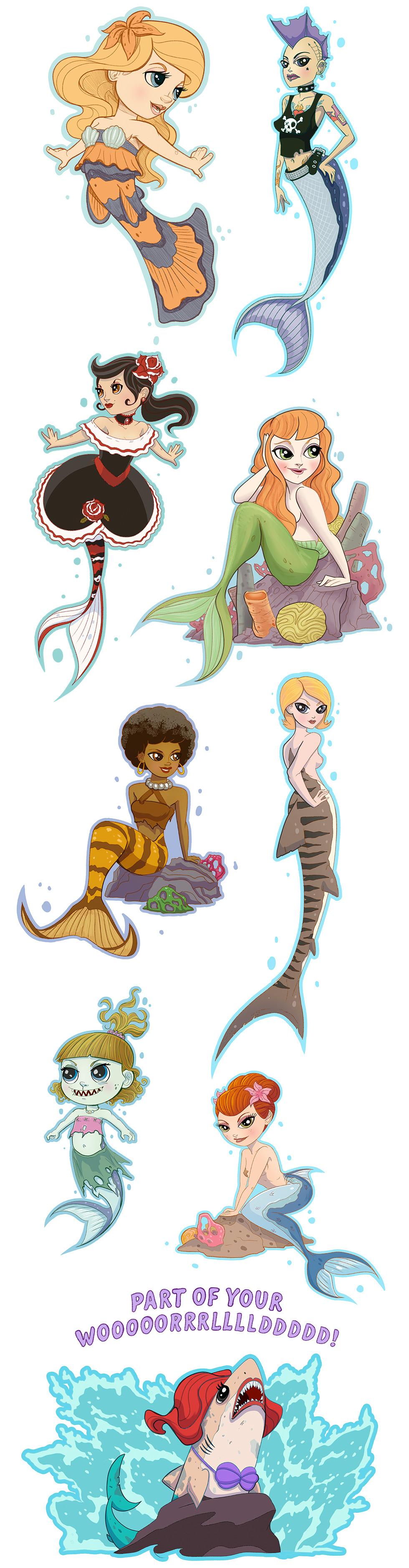 mermaids landon armstrong