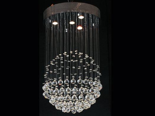 BOWL CRYSTAL PENDANT LAMP