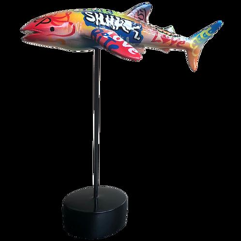 FIGURA COLORIDA WHALE SHARK