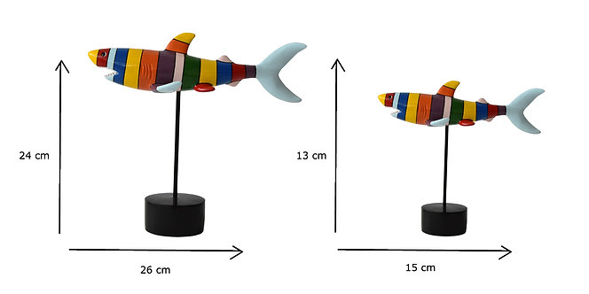 FIGURA COLORIDA SHARK MULTI