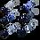 Thumbnail: KEYCHAIN LECCIO LE BLUE MARINE
