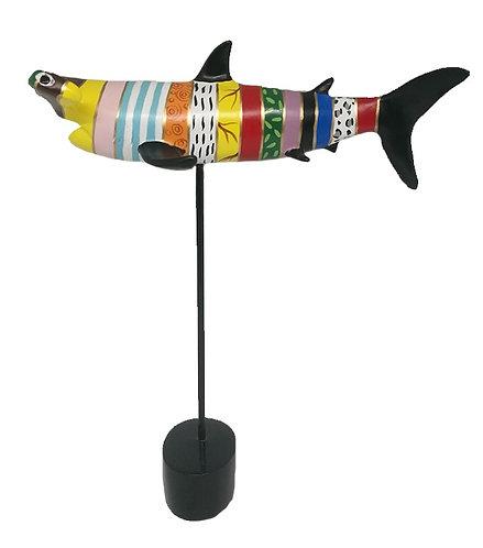 SCULPTURE HAMMERHEAD SHARK