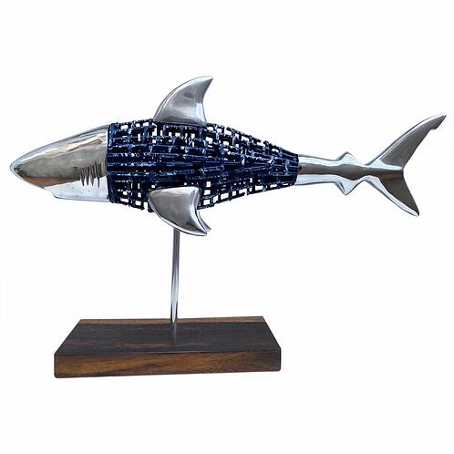 SHARK NET BLUE