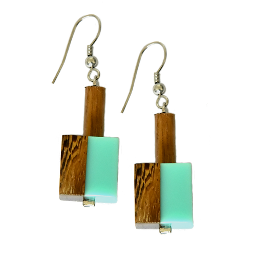 BOUCLES D'OREILLES ASTI IN TURQUOISE