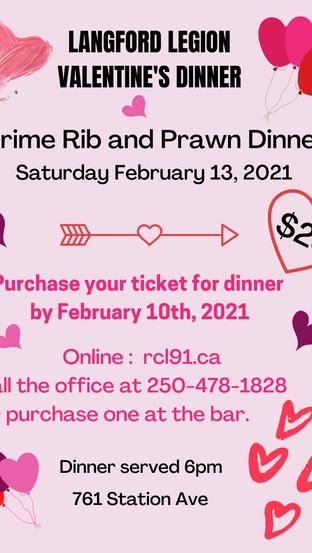 Valentine's Dinner at the Branch ❤