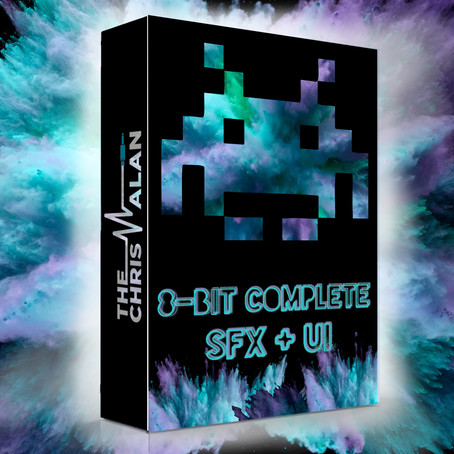 8-Bit Complete SFX & UI - New Sound Library Available!