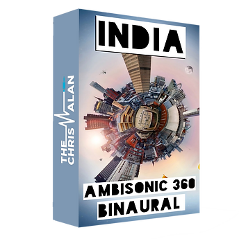 India 360 Ambisonic Binaural Sound Library Ambience sound effects library by The Chris Alan