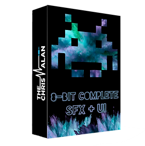 8 Bit Complete SFX & UI Sound Efects Library by The Chris Alan Retro ChipTune Sounds