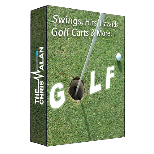 GOLF – Swings, Hits, Hazards, Golf Carts, and More
