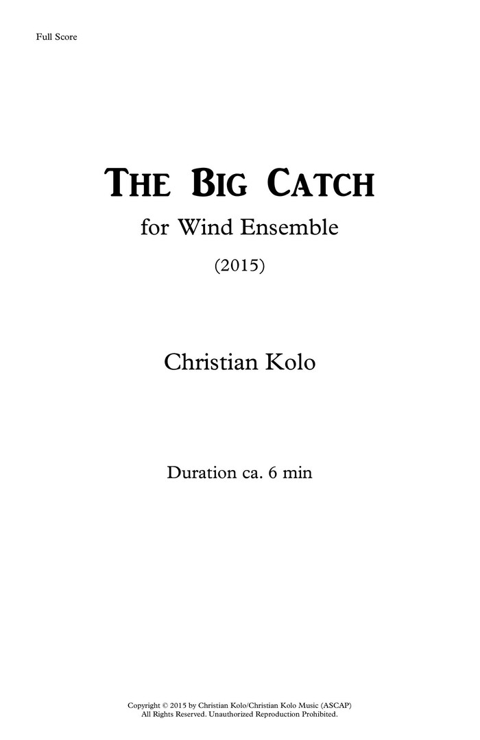 The Big Catch (Works Cover).jpg