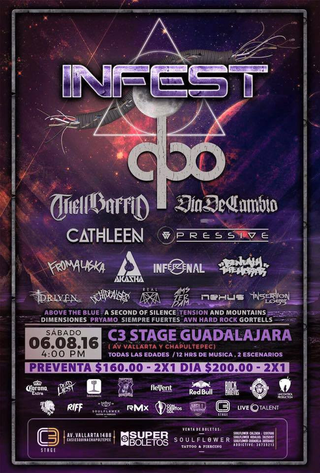 6/AGO2016: ¡ASOS regresa a Guadalajara!