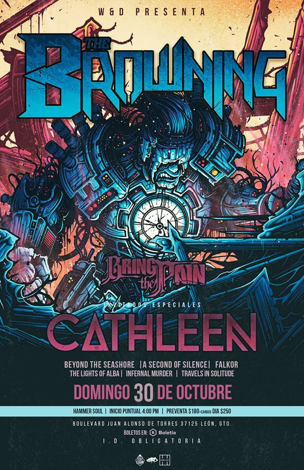 @aSecondOfSilence + @TheBrowning + @Cathleen + @BringThePain >30/OCT/2016<