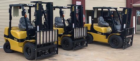 New Fleet Machines